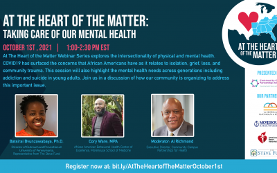 At The Heart of the Matter: Taking Care of Our Mental Health