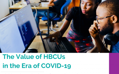 The Value of HBCUs in the Era of COVID-19